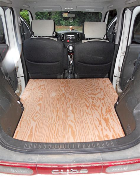 nissan cube interior backseat the cargo cube i just removed the backseat from my nissan