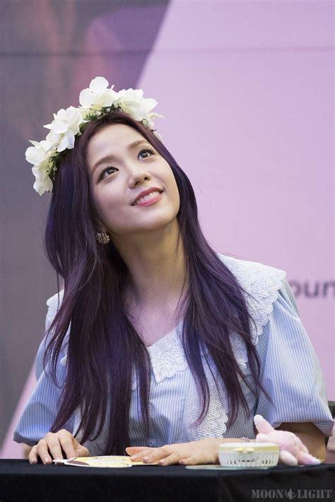 foto jisoo blackpink cantik  warna style rambut
