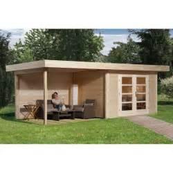 abri jardin bois quot chillout 3 quot 28 mm appentis ferm 233 300 cm