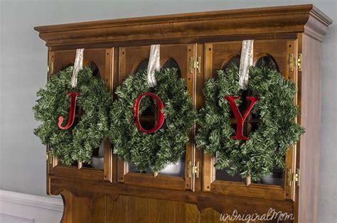 decorating a china cabinet for christmas unoriginal mom