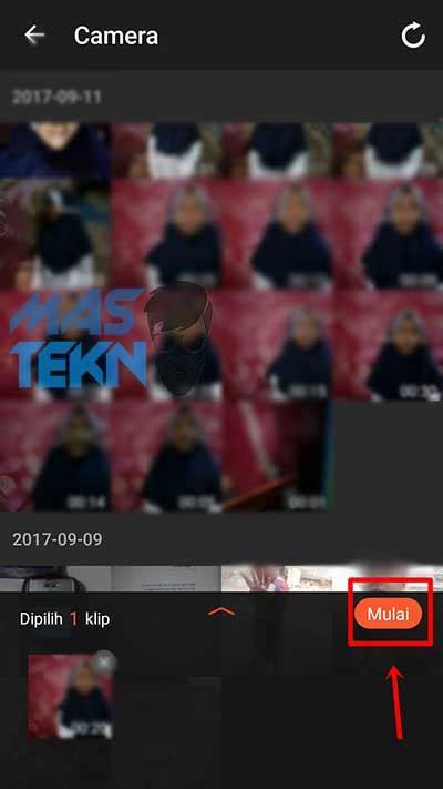 membuat video editing android cara membuat video slow motion di hp android praktis