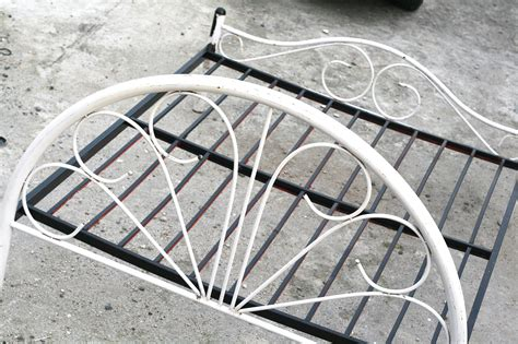 how to paint a bed how to paint a metal bed frame with pictures wikihow