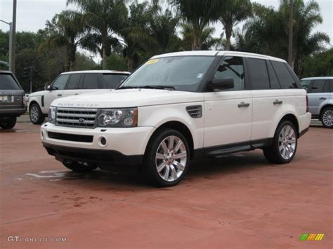 land rover supercharged white range rover land rover 2009 alaska white land rover