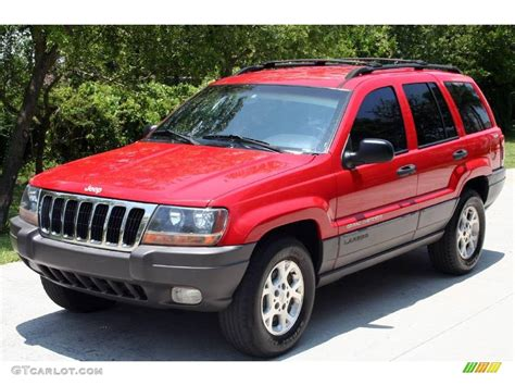 red jeep cherokee 1999 flame red jeep grand cherokee laredo 4x4 11894041