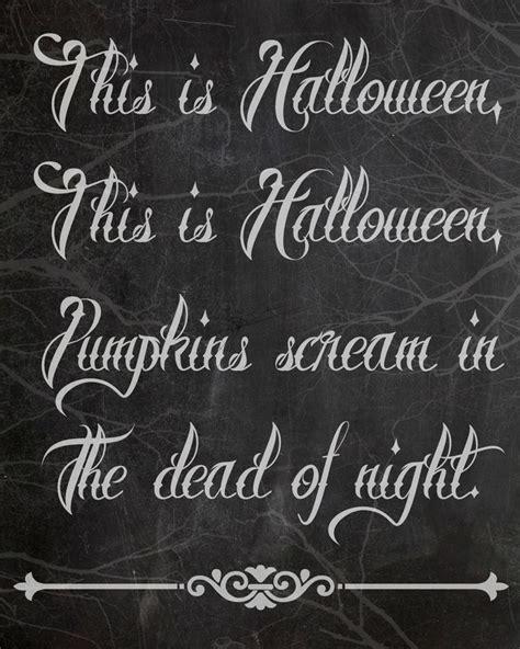 the nightmare before christmas halloween quotes - Nightmare Before Christmas Quotes
