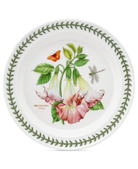Portmeirion Botanic Garden Sale Portmeirion Dinnerware Botanic Garden Salad Plate Dinnerware Dining Entertaining Macy S