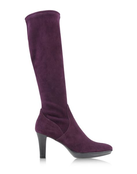 aquatalia by marvin k boots in purple lyst