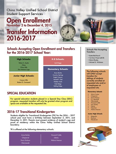open enrollment flyer template flyer for open enrollment
