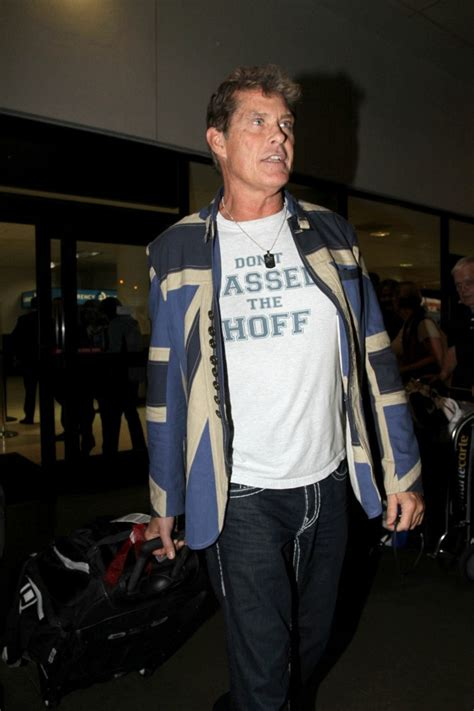Style Icon Dont Hassel The Hoff by David Hasselhoff Photos Photos David Hasselhoff At Lax