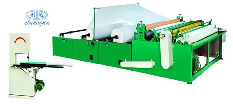 Toilet Paper Machines - toilet paper machine by chuangda machinery manufacture co