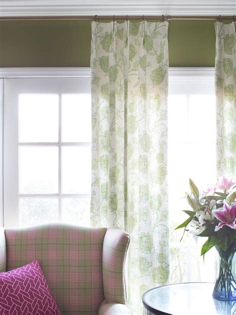 Living Room Window Treatments Stationary Panels Stationary Panels Are Strictly