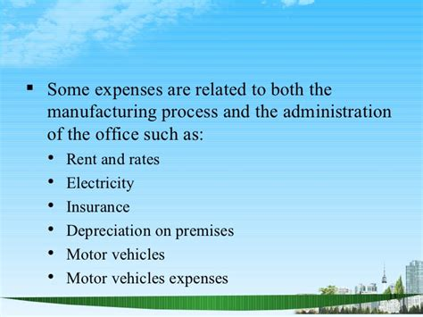 Mba Insurance Rates by Manufacturing Account Ppt Mba Finance
