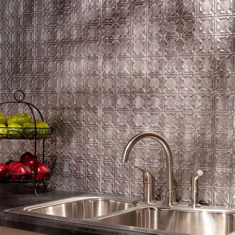 fasade traditional 6 18 quot x 24 quot pvc backsplash panel at menards 174 fasade 24 in x 18 in traditional 1 pvc decorative