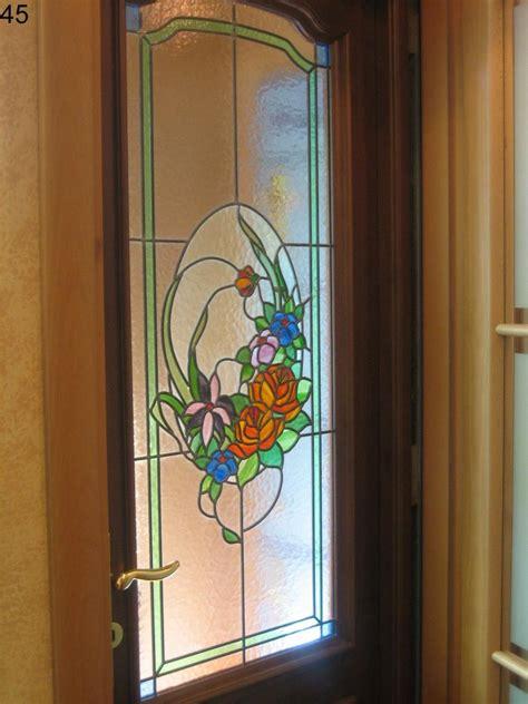 vetrate artistiche per porte interne grassi vetrate artistiche srl