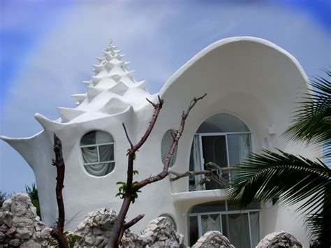 shell house isla mujeres airbnb top 5 unusual buildings top 5 of every 衝撃的アート 世界の