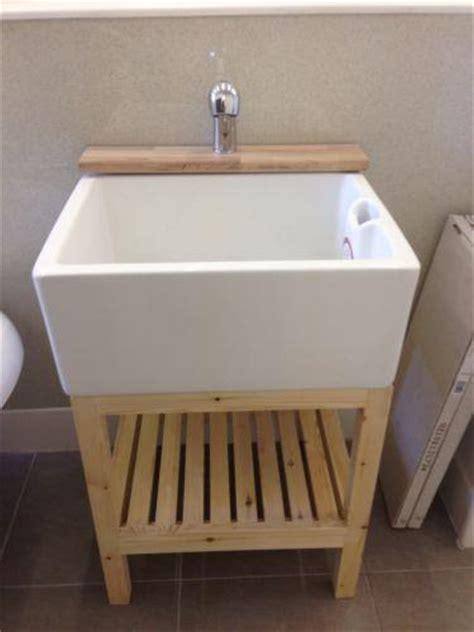 stand alone utility sink belfast sink stand ebay