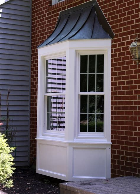 Kitchen Bay Window Exterior Front Entry Bay Window West Chester Pa