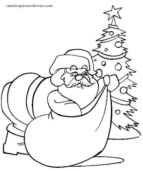 imagenes de santa claus para whats dibujos para colorear papa noel santa claus