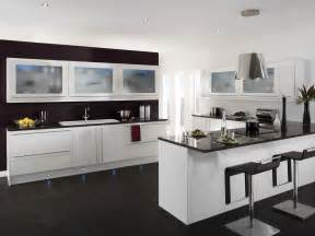 Modern Kitchen Color Ideas by Tips To Increase The Colour In The White Kitchen Modern