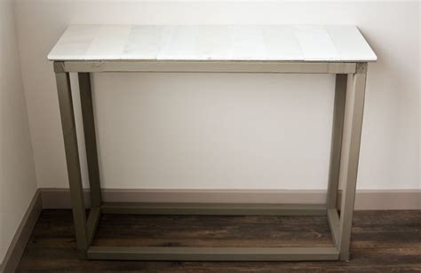 marble entryway table