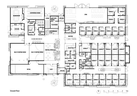 Veterinary Hospital Floor Plans by Ballarat Community Health Primary Care Centre Designinc
