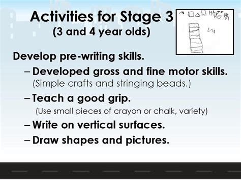 developmental stages  writing early writing skills