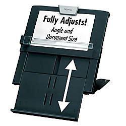 fellowes professional series   document holder blacksilver office depot
