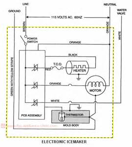 awesome ge refrigerator wiring diagram contemporary images for image wire gojono