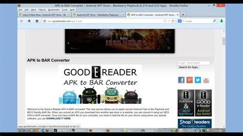 blackberry playbook apk to bar converter convert android how to convert apk to bar files