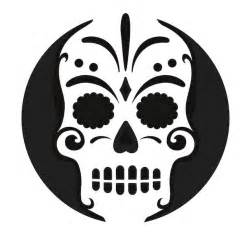 Day Of The Dead Pumpkin Template by 40 Printable Carving Stencils For The Best Lookin Pumpkin