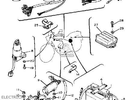 83 yamaha xt wiring diagram circuit diagram maker