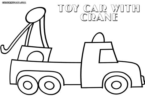 toy car coloring page coloring home