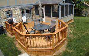 decks and porches i this open patio deck honey do list