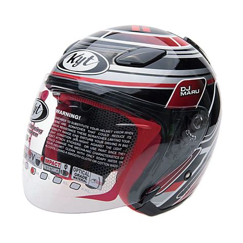 Helm Kyt Rocket White Black image gallery helm kyt dj maru