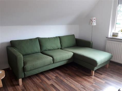 Ikea Sofa Mit Recamiere by Ikea Karlstad Sofa 3 Sitzer Mit Recami 232 Re In Gr 252 N