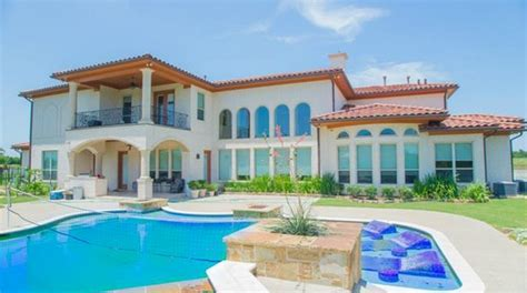 million mediterranean style home  sunnyvale tx