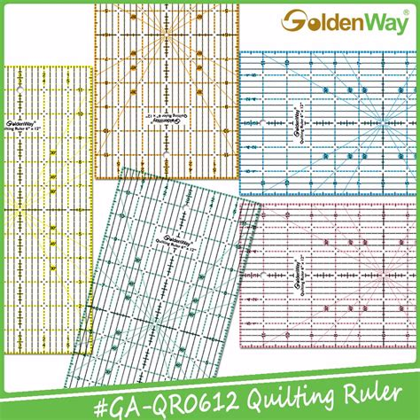printable quilting ruler durable acrylic printable angle quilting ruler and drawing