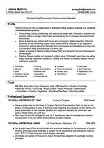 Technical Writing Resume Technical Writer Resume Sample Resumes Design