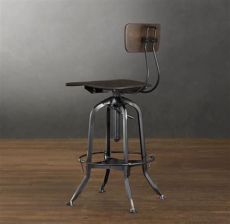 Tractor Seat Bar Stools Restoration Hardware by Vintage Stool Ambitious Home Other