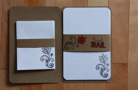 diy stationery lotus tree crafts diy stationery set take 1