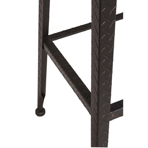 26 Backless Swivel Counter Stool by Bowery Hill 26 Quot Backless Swivel Counter Stool In Black