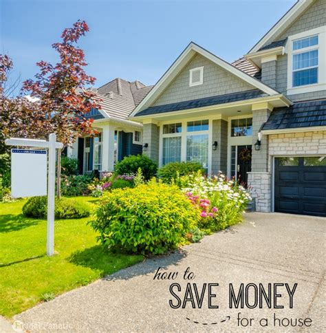 how to your not in the house how to save money for a house