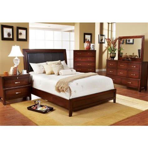 rooms to go bedroom furniture sets bedroom sets furniture caulfield 5 pc king bedroom