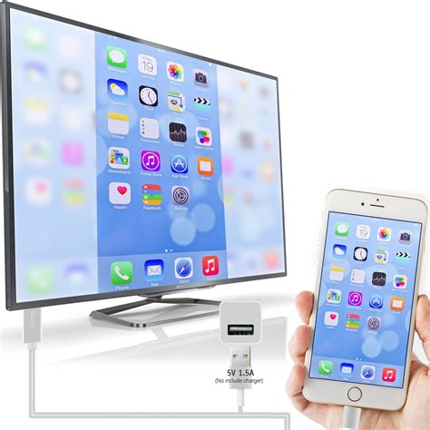 iphone to tv lightning to hdmi cable iphone cellular to tv the gadget