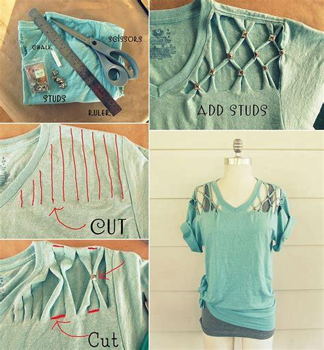 diy t shirt customizing hacks and ideas
