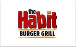 The Habit Gift Card - buy habit burger gift cards raise