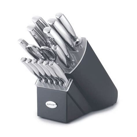 kitchen knives comfortable stainless knife block