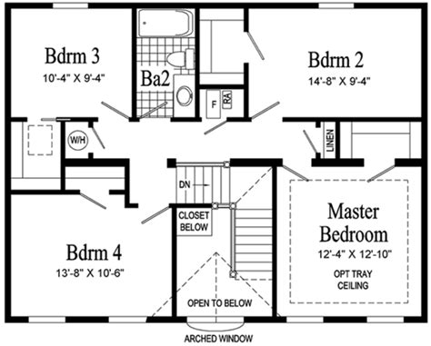 Second Story Floor Plans Providence Ii Two Story Modular Home Pennwest Homes