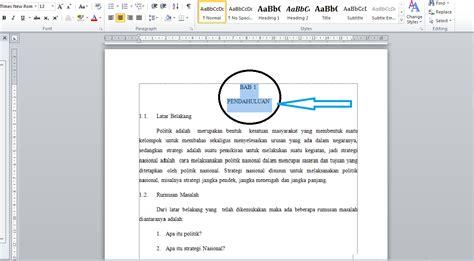 cara membuat daftar isi di word 2010 secara otomatis cara membuat daftar isi di documen secara otomatis pada