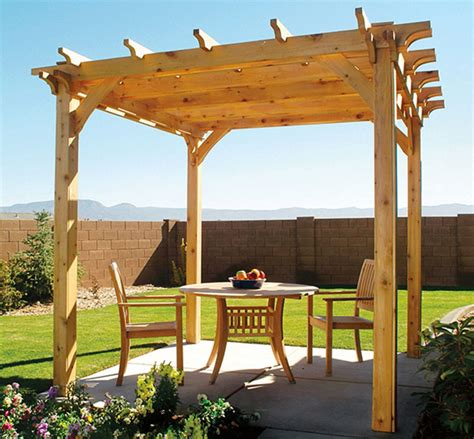 diy backyard pergola with free plan